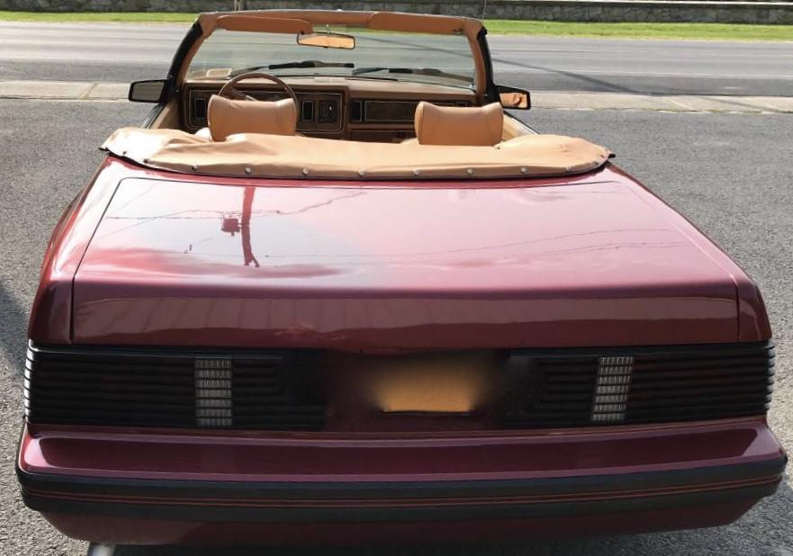 1979 Mercury Capri 5.0 Convertible 38K Mile 1 of 6 Conversion – Sold!