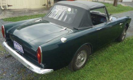 1967 Sunbeam Alpine Series V – $6,000