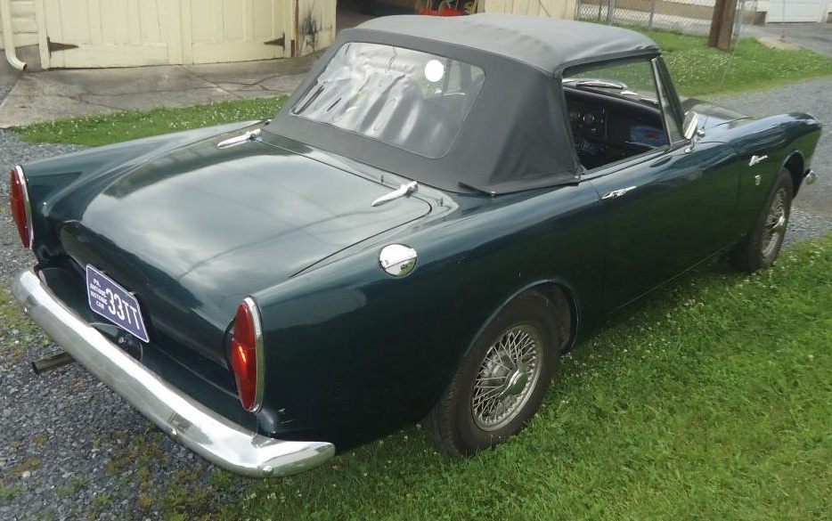 1967 Sunbeam Alpine Series V – Sold!