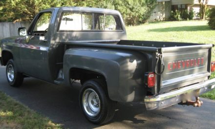 1986 Chevrolet C10 Stepside Pickup – SOLD