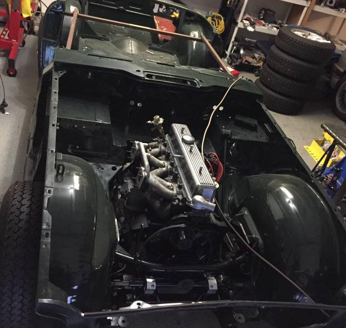 """1973 Triumph TR-6 """"80% Project"""" – Sold!"""