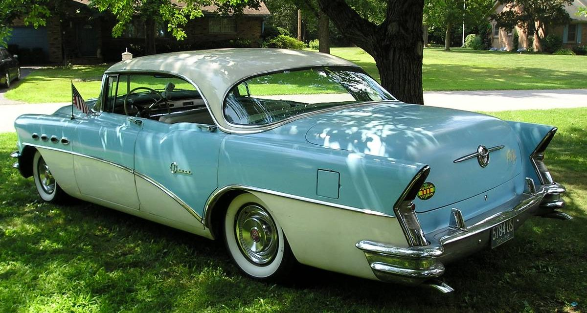 1956 Buick Super Four Door Riviera Hardtop 35K Mile Survivor – $15,000