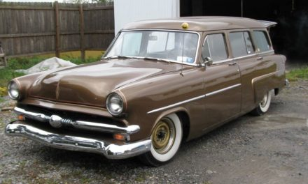 Shaggin Wagon:  1953 Ford Customline Lowrider Wagon – SOLD!