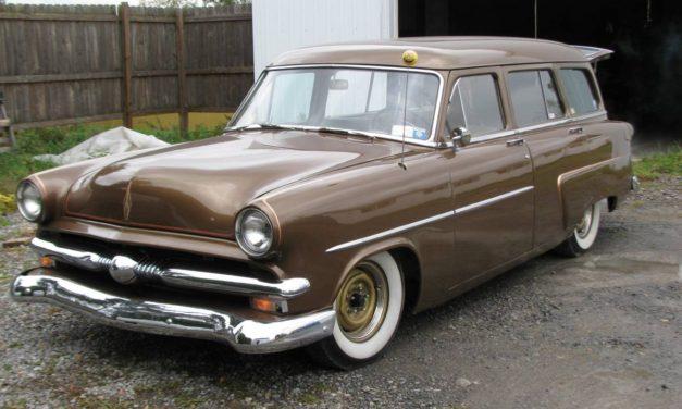 Shaggin Wagon:  1953 Ford Customline Lowrider Wagon – $13,500