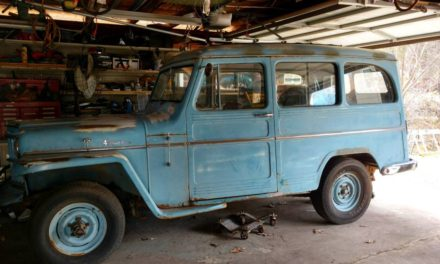 1957 Willys Utility Wagon 4×4 Project – $4,900