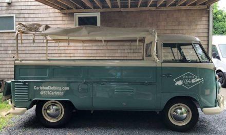 1962 Volkswagen Type 2 Single Cab Utility Pickup – $45,000