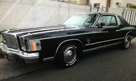 1979 Chrysler Cordoba Original Owner – $5,500