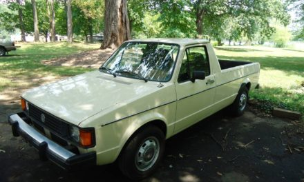 1982 Volkswagen Rabbit Pickup Diesel 5-Speed – $3,500