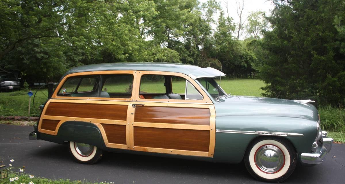 1950 Mercury Two Door Woodie Wagon – $93,500