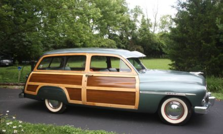 1950 Mercury Two Door Woodie Wagon – $93,500