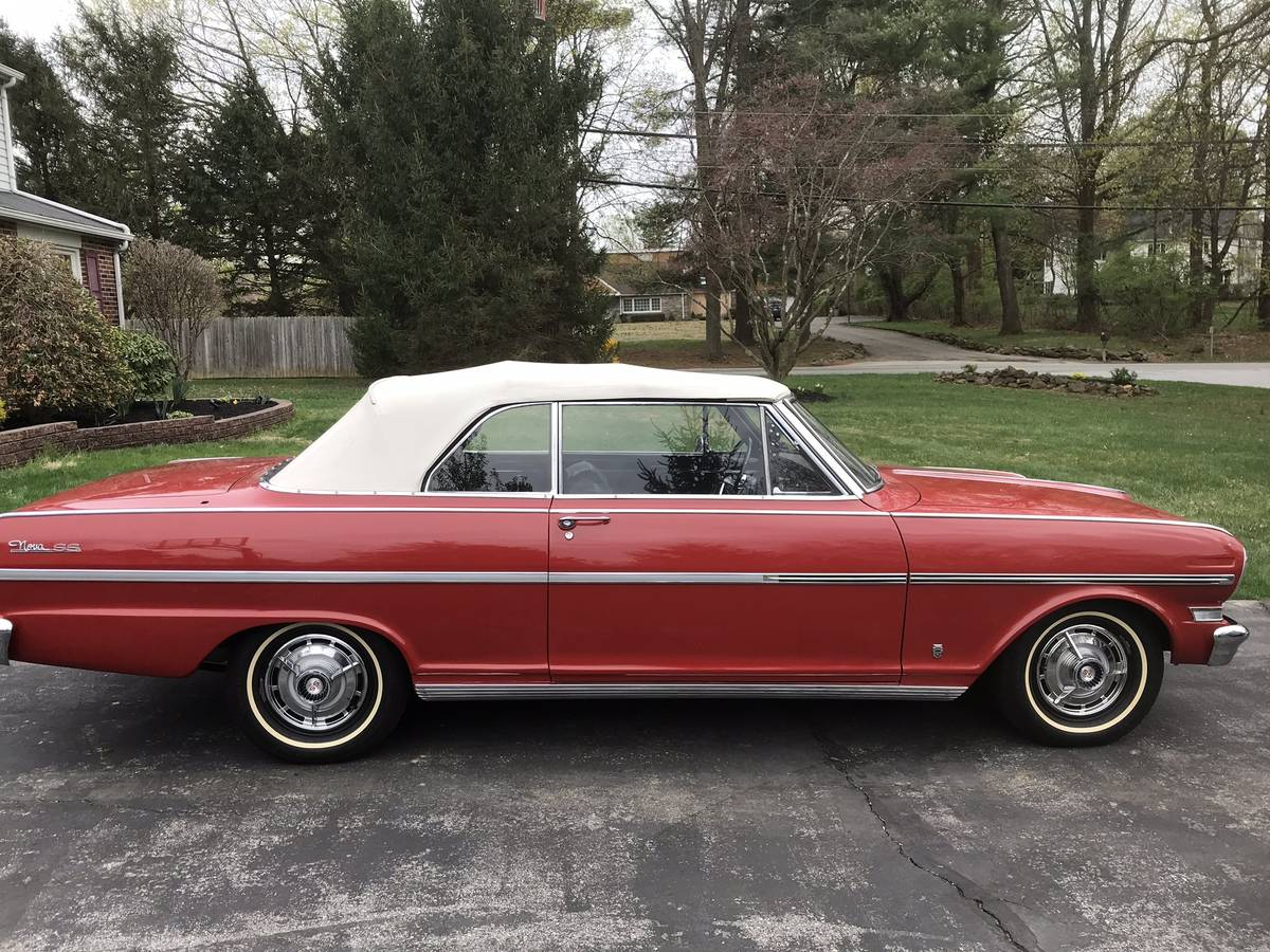 1963 Chevrolet Nova 400 SS Convertible - $27,500 ...