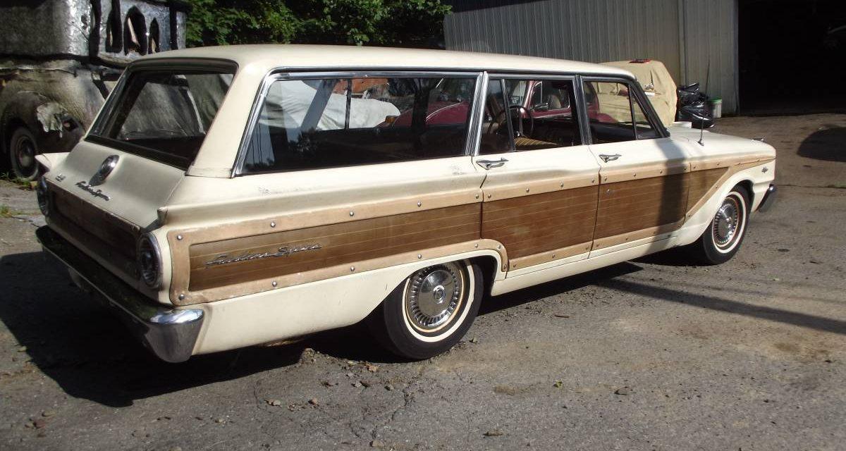 1963 Ford Fairlane 500 Squire Wagon Project – $6,500