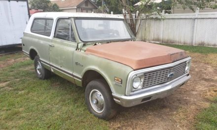 1972 Chevrolet K5 Blazer Project – $7,500
