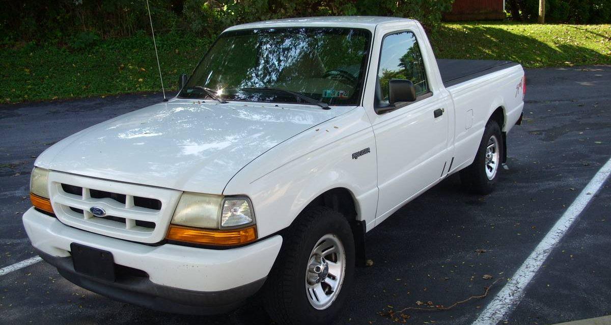 1999 Ford Ranger Pickup – $2,495