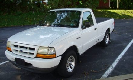 1999 Ford Ranger Pickup – $2,495