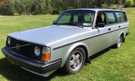 1985 Volvo 245 GLT Turbo 5-Speed – Sold!