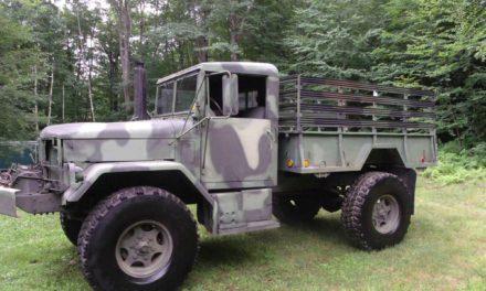 """1978 AM General M35A2 """"Bobbed Deuce"""" – SOLD!"""