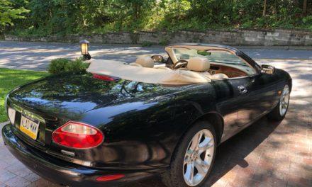 2004 Jaguar XK8 Convertible – Sold!