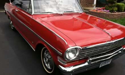 1963 Chevrolet Nova 400 SS Convertible – $27,500