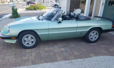 1985 Alfa Romeo Spider Veloce Series 3 40K Mile Survivor – Sold!