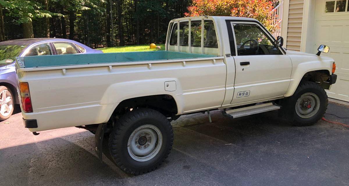 1987 JDM Toyota Hilux 2.4L Diesel 4×4 – $21,000