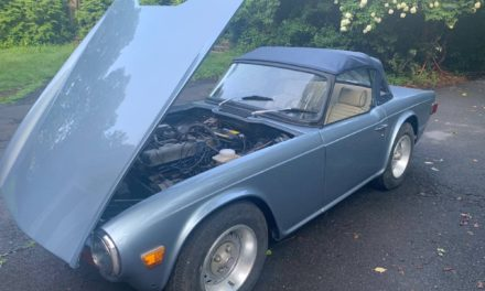 "1974 Triumph TR-6 ""90% Project"" – Now $17,500"