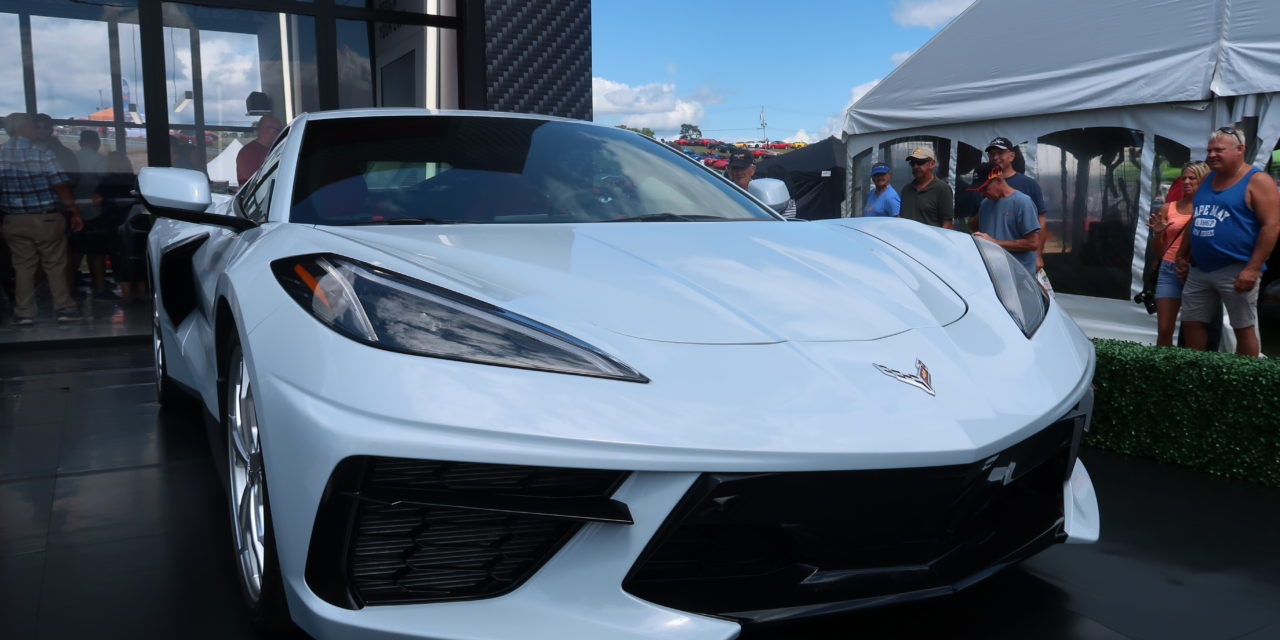 2020 C8 Enthusiast Launch at 2019 Corvettes at Carlisle