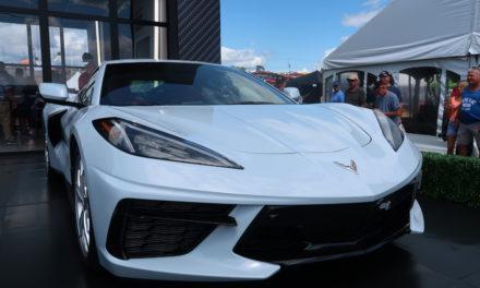 2020 C8 Enthusiast Launch at 2019 Corvettes at Carlisle