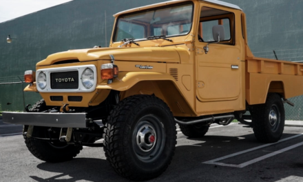 Mecum Harrisburg 2019 Lot F85: 1986 Toyota FJ-45 Land Cruiser Pickup