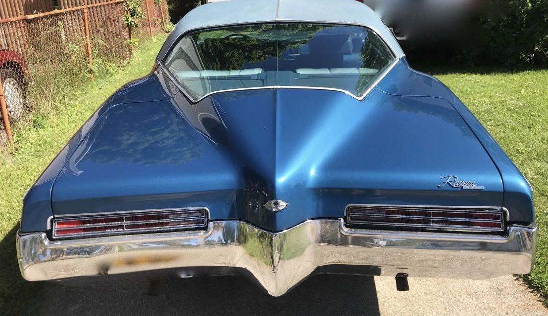 "1972 Buick ""Boat Tail"" Riviera 75K Survivor – $14,500"