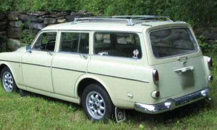1967 Volvo 122S Amazon Station Wagon 80K Mile Survivor – SOLD!