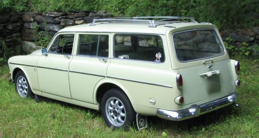 1967 Volvo 122S Amazon Station Wagon 80K Mile Survivor – SOLD!