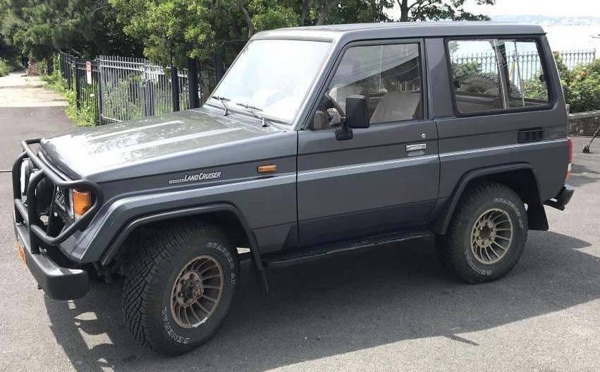 1990 Toyota Land Cruiser II LJ 70 Turbo Diesel – $12,500 OBO