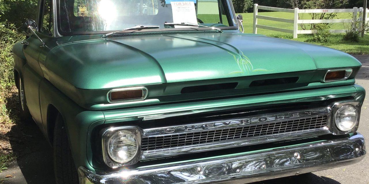 Reserved Parking 2:  1966 Chevrolet C10 Stepside Restomod – SOLD!