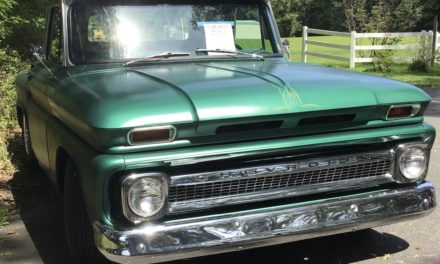 Reserved Parking 2:  1966 Chevrolet C10 Stepside Restomod – SOLD!