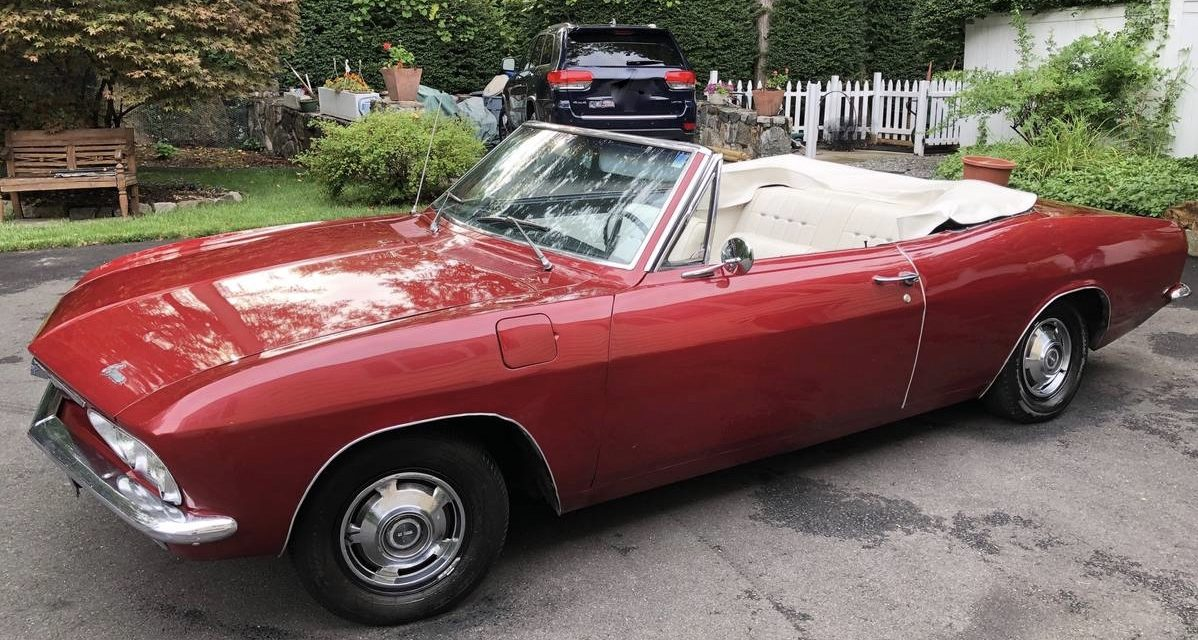 1966 Chevrolet Corvair Monza Convertible – SOLD!