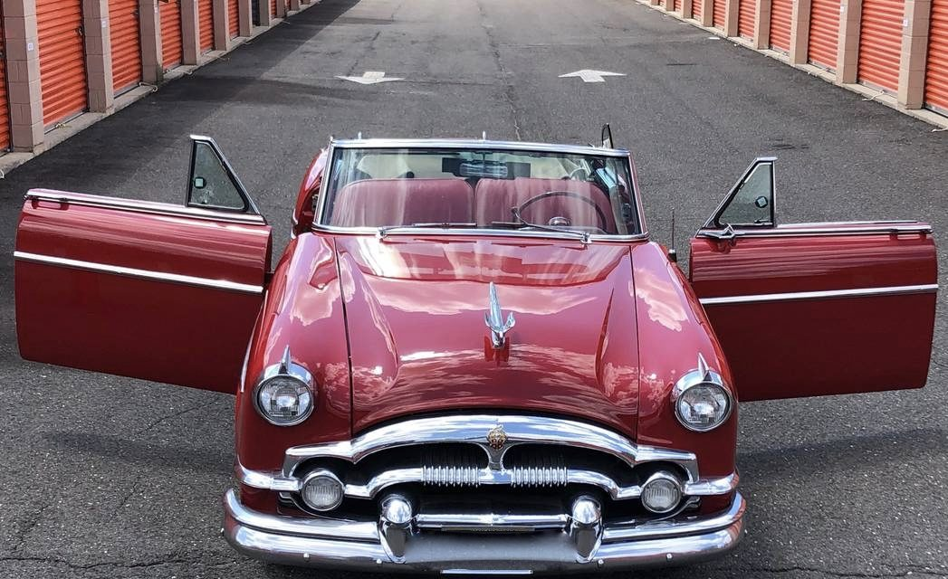 1954 Packard Convertible 14.5K Mile Time Capsule – $47,000