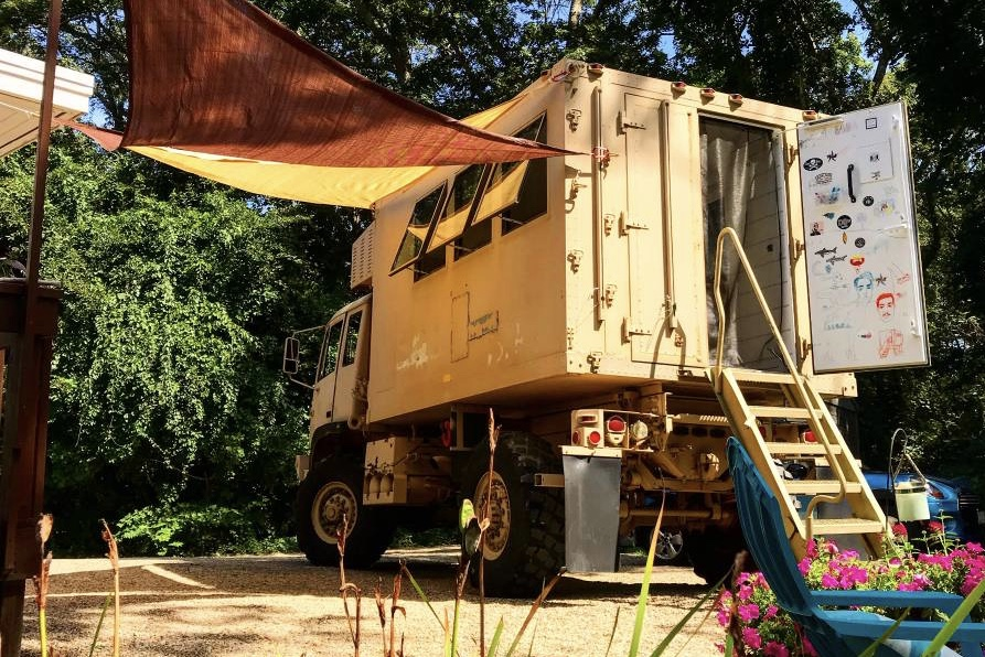 1995 Stewart & Stevenson LMTV M1079 4X4 Camper Truck – SOLD!