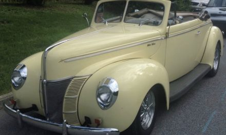Same Pictures Different Year:  1940 Ford Deluxe Convertible Street Rod – NOW $34,000