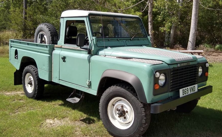 1985 Land Rover 110 HCPU Right Hand Drive – $16,500