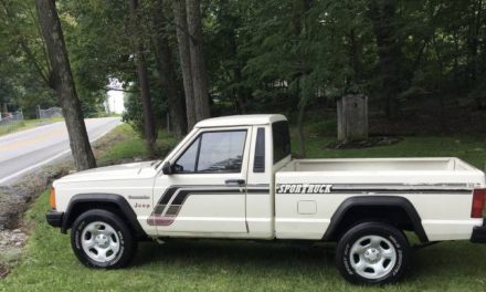 1987 Jeep Comanche MJ 2WD Pickup – $5,000