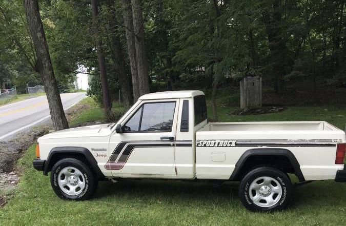 1987 Jeep Comanche MJ 2WD Pickup – $5,000