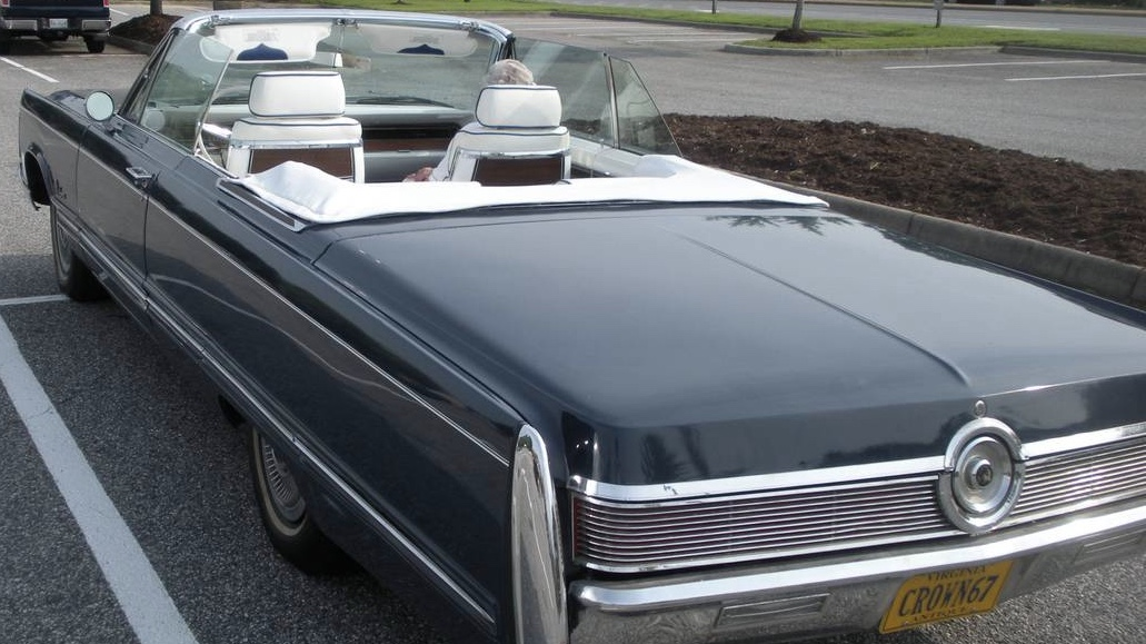 1967 Restored Imperial Crown Convertible – $29,900