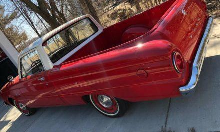 1961 Ford Ranchero Restored – $15,500