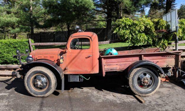 Rat Rod Candidate:  1959 Dodge WM300 Power Wagon – SOLD!