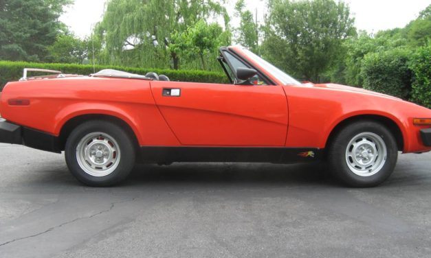 Same Car Different Year:  1980 Triumph TR7 Convertible – NOW $9,500