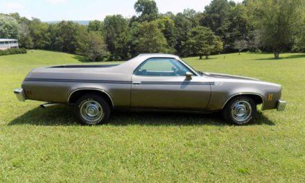 1977 Chevrolet El Camino – $10,500