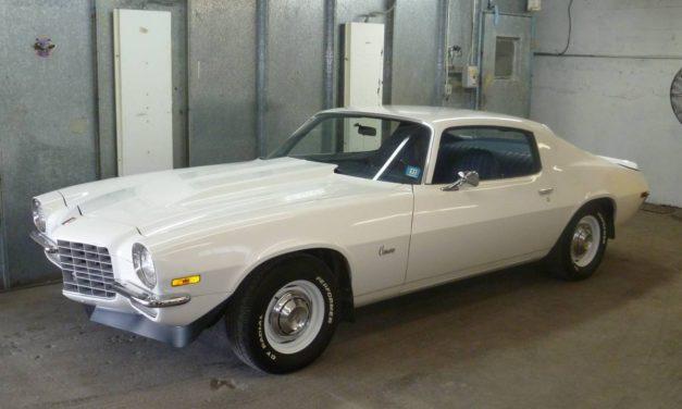 Blasphemy or Brilliance: 1972 Chevrolet Camaro 40K Mile One Family Survivor – NOW $22,895