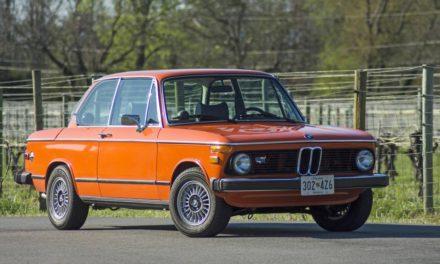 1976 BMW 2002 5-Speed – $16,500