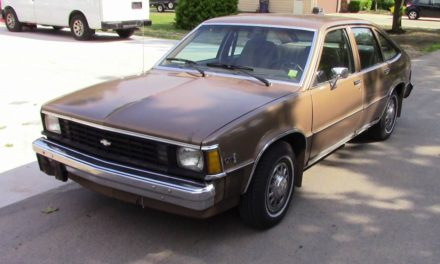 1981 Chevrolet Citation X-11 V6 – SOLD!